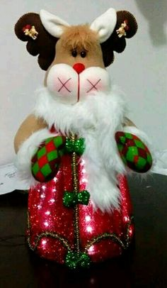 *** Christmas Sewing, Christmas Fabric, Christmas Goodies, Christmas 2016, Felt Christmas, Christmas Humor, Xmas, Christmas Ornaments, Reindeer Decorations
