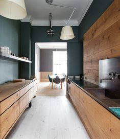 Design | Modern Oak Kitchen | Dust Jacket | Bloglovin'