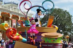 When I travel to Orlando I wish to see one of their amazing parades with my friends.
