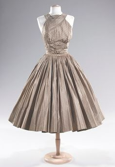 Norman Norell (1900-1972) 1955 cocktail dress