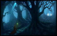 The Dark Forest by Jimpaw.deviantart.com on @deviantART