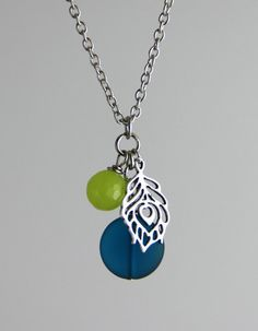 Hey, I found this really awesome Etsy listing at https://www.etsy.com/listing/179586253/peacock-pendant-necklace-matte-teal-sea
