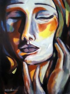 View Helena Wierzbicki's Artwork on Saatchi Art. Find art for sale at great prices from artists including Paintings, Photography, Sculpture, and Prints by Top Emerging Artists like Helena Wierzbicki. Expressionist Portraits, Abstract Expressionism, Portrait Art, Abstract Portrait, Abstract Art, American Art, Zentangle, Original Paintings, Modern Paintings