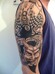 Tattoos zum Stichwort Rockabilly   Tattoo-Bewertung.de   Lass Deine Tattoos bewerten!