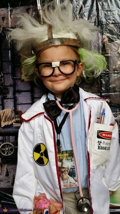 Mad Scientist Costume - Halloween Costume Contest via