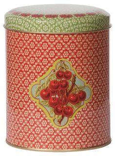 Blikken voorraaddoos Berries