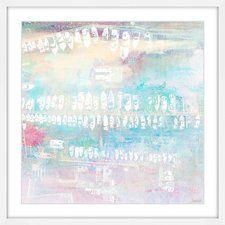 Many White Boats' by Parvez Taj Framed Painting Print