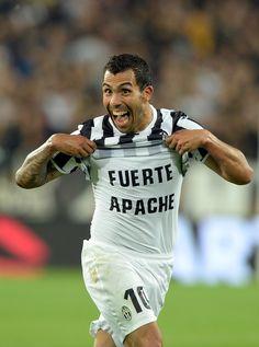 I'm personally just loving that face Tevez lol  #Tevez #Juventus