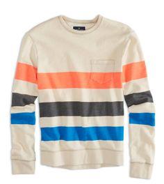 AE Striped Sweatshirt