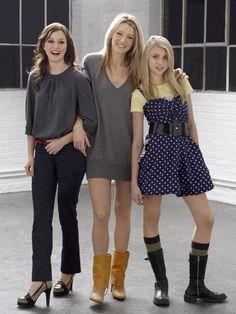 Gossip Girl Blair Waldorf, Serena Van der woodsen, Jenny Humphrey
