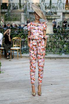 Delpozo Pantsuit - perfect for the races