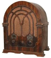 We all sat around this when I was little listening to the news of the war,and many good radio shows.It was real family time back then,because there was only one radio in the whole house and it was in the living room by my Grandpa's chair