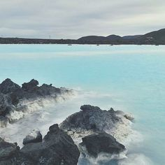 The sky isn't very beautifully toned, but the detail of the rocks and colour of the water…great.