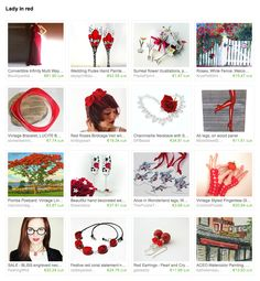 Thank you to Bonita from bonitalouise for creating this fantastic red gift guide: Lady in Red