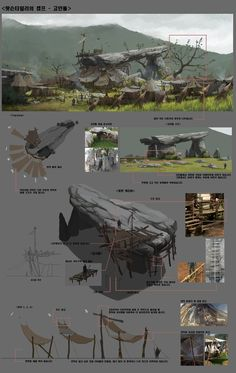 MMORPG project concept art. / 2013