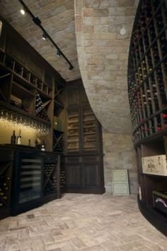 Some day I want a wine cellar like this!
