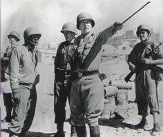 Lieutenant General Patton in North Africa, 1943.