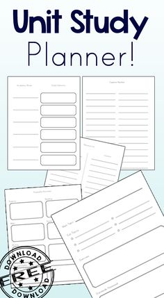 Study Planner The perfect Unit Study Planner! I love how simple and concise this is while being so useful!The perfect Unit Study Planner! I love how simple and concise this is while being so useful! Unit Plan Template, Lesson Plan Templates, Planner Template, Printable Planner, Free Printables, Lesson Planner, Study Planner, Planner Ideas, Planners