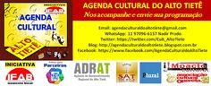 Agenda Cultural do ALTO TIETÊ