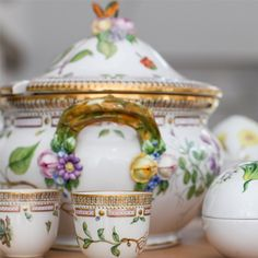 Flora Danica from Royal Copenhagen, Denmark - one of the world's most luxurious porcelain collections.