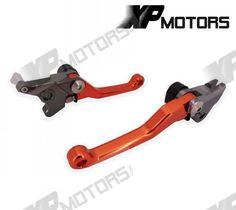 Motocross Racing Dirt Bike Pivot Brake Clutch Levers For KTM 530EXC/EXC-R/XC-W/XCR-W 2005 2006 2007