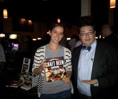 HOLL GETS 'CRAFTY' IN JERSEY CITY On August 29, John Holl, author of The 'American Craft Beer Cookbook' (Storey Publishing), was the guest of honor at a launch party at Barcade in Jersey City, N.J. Holl is pictured with Jenn Northington, events director for WORD Bookstores.