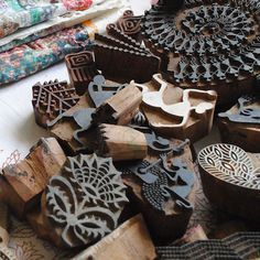 India has beautiful motifs & textiles