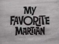 My Favorite Martian is an American television sitcom that aired on CBS from September 29, 1963 to May 1, 1966 for 107 episodes (75 in black and white 1963–1965, 32 color 1965–1966). The show starred Ray Walston as Uncle Martin (the Martian) and Bill Bixby as Tim O'Hara.