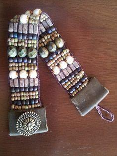#loom bracelet by Pam