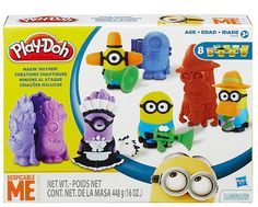 Despicable Me Play-dough Making Mayhem ft. Minions