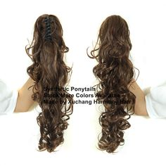 Stock more different color synthetic ponytails for your selection. Synthetic Hair Extensions, Synthetic Wigs, Marley Braids, Curly Ponytail, Ponytail Extension, Jumbo Braids, Faux Locs, Hair Weft, Hair Pieces
