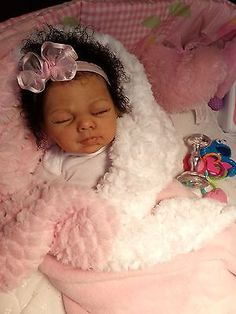 Beautiful Reborn baby Girl Penny Limited Edition Ethnic, AA, Biracial baby doll