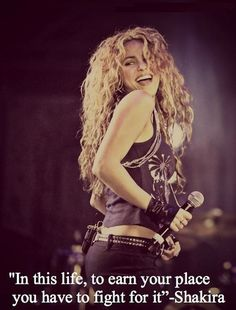 Really, the facts are clear: She's an altruistic genius, and her dedication to global issues is admirable as hell. Vote Shakira for Queen President of el Mundo!!! hahaha