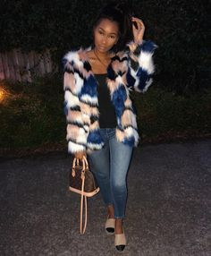 """8,930 Likes, 44 Comments - Charlotte Kamale (@charliekamale) on Instagram: """"For all those asking my fur coat is from @missyempire use code 'LIT' for 30% off direct link also…"""""""