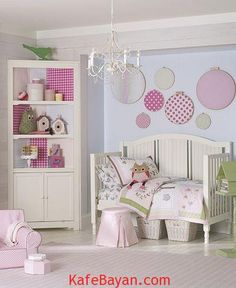 toddler-girl-room-polka-dot-and-owl | Kafe Bayan