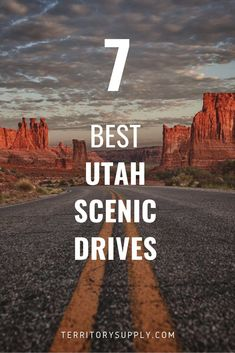Utah is world famous for it's National Parks, but it also has it's fair share of Scenic Byways too. Crossing a variety of desert and mountain terrain, here's the definitive guide to the best scenic drives in Utah. Arizona Road Trip, Road Trip Usa, Utah Vacation, Vacation Ideas, Vacation Destinations, Utah Parks, Places To Travel, Places To Visit, Visit Utah