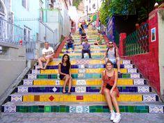 Escadaria Selaron, Lapa