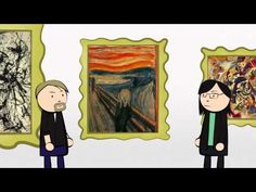 Expressionism Learn about artists Jackson Pollock and Max Beckmann and theorist Leo Tolstoy in this animation discussing the complex theory of Expressionism. Jackson Pollock, Art Videos For Kids, Art Curriculum, School Art Projects, Art Lessons Elementary, Art And Technology, Elements Of Art, Art Classroom, Art Club