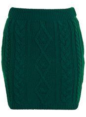 knitted cable brief skirt Crochet Skirts, Knit Skirt, Knit Dress, Winter Skirt, Knit Fashion, Long Sweaters, Long Sweater Dress, Short Skirts, Cable Knit