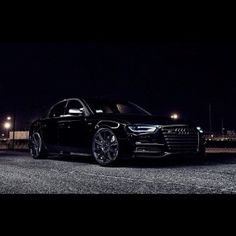 Stunning Audi Black Mate Edition Picture