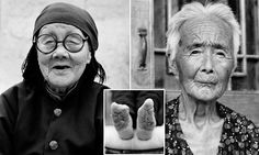 PICTURED: The last living Chinese women with bound feet