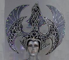 Da-NeeNa-H305-Queen-of-War-Evil-Batman-Dance-Headdress