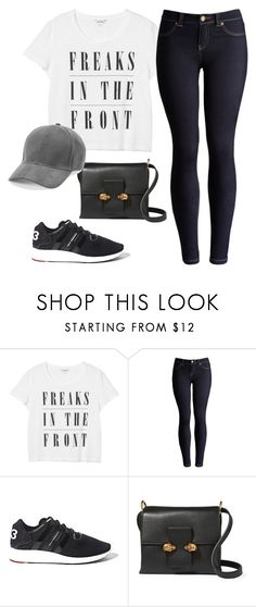 """""""Untitled #14020"""" by beatrizibelo ❤ liked on Polyvore featuring Monki, Joules, Y-3 and Alexander McQueen"""