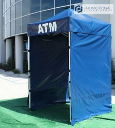 5' by 5' Pop Up Tent for ATM