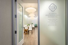 Apex Design Build Constructed a SF Dermatology office with 11 Treatment Rooms. Clinic Interior Design, Interior Design Portfolios, Clinic Design, Modern Interior Design, Design Offices, Modern Offices, Salon Design, Medical Office Interior, Medical Office Design