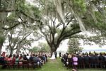 Charleston weddings. Copyright Jennifer Bearden Photography #weddings #charleston #chs #photography vows under the oak tree