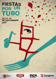 """Las calles de El Tubo se adelantan a los Pilares 2012 con """"Fiestas por un Tubo"""""""