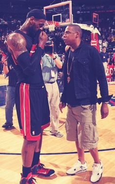 Lebron and Jay-z .