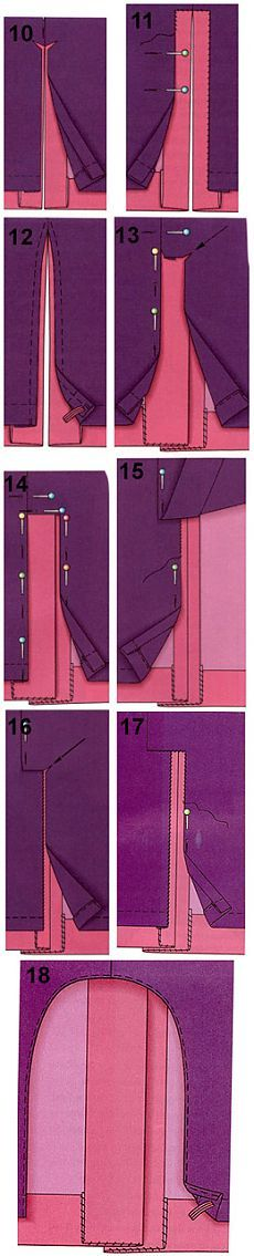 How to sew the lining to the skirt and a skirt-pants   pokroyka.ru-cutting and sewing lessons