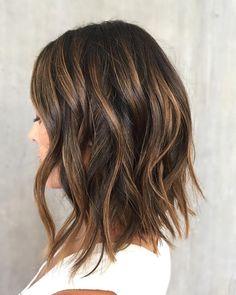 "138 Likes, 3 Comments - San Diego Luxury Salon (@rinsesalon) on Instagram: ""Lob Loving ❤️ Hair by @ana.rinsesalon using @oribe. To book -> www.rinsesd.com #rinsesalon"""